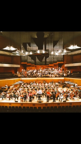 UK Premiere of Penderecki's 'Seven Gates of Jersualem', Bridgewater Hall, Manchester