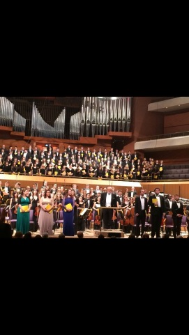 UK Premiere of Penderecki's 'Seven Gates of Jerusalm', Bridgewater Hall, Manchester